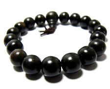 10mm Ebony Beads Tibet Buddhism Bracelet
