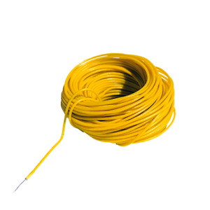 Digikeijs DCC Decoder Wire ~ 30 AWG ~ .25mm/.45mm ~ Yellow ~ 10 Meters DR60362