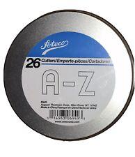 """Ateco Alphabet Cutter Set, 1"""""""