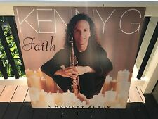 Kenny G Faith A Holiday Album Rare Original 36X36 LARGE FOAM CORE PROMO POSTER
