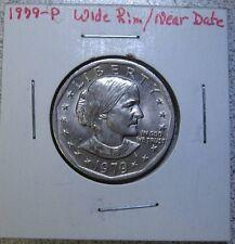1979-P Susan B Anthony Dollar Wide Rim / Near Date.