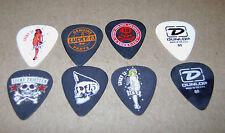 Lot of 6 (Six) Lucky 13 Thirteen Guitar Picks Series 2 *Rare* Mix and Match