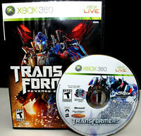XBox 360 Transformers Revenge of the Fallen Game Microsoft Rated Teen-TESTED