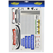 Decal Sheets 1:10 MERCEDES BENZ CLK AMG CHRYSLER BANK DTM 2004 Sticker Carson 69