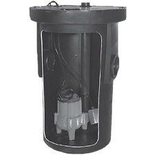 "Little Giant 9S-SMPXRT-K - 4/10 HP Cast Iron Sewage Pump System (2"")"