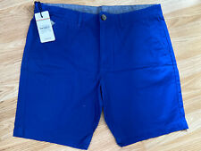 SoulCal&Co New Mens Blue XL Chino Shorts RRP £22.99