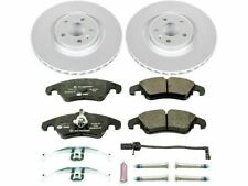 For 2010-2011 Audi S4 Brake Pad and Rotor Kit Front Power Stop 93545RD 3.0L V6