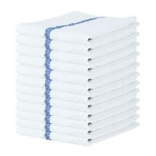 12 Pack of Bar Mop Terry Towels - Qwick Wick Kitchen Towel - 16 x 19 - Bulk
