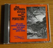 THE ORCHIDS Striving For The Lazy Perfection 1994 UK CD ALBUM SARAH RECORDS EX
