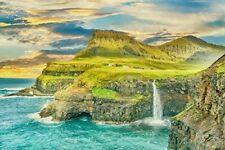 FKG Arts Puzzles Jigsaw Puzzle Faroe Islands Archipelago Ireland 500-Pieces