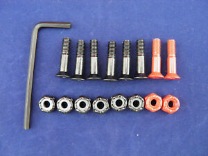 """Allen Skateboard Hardware 7/8th"""" with indicator bolts"""