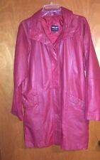 PELLE New York - Women's Milano Leather Coat - Size: S - Made in Korea
