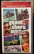 Grand Theft Auto: Vice City Stories (Sony PSP, 2006) Free Shipping!!