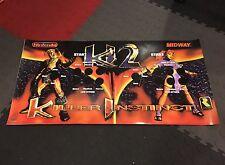 Killer Instinct 2 CPO Control Panel Overlay KI Arcade Decal Sticker Vinyl Midway