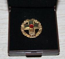 DRK Deutsches Rotes Kreuz Ehrennadel 50 Blutspenden Pin Anstecknadel Abzeichen