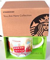 Starbucks London Ceramic Mug You Are Here Collection 414 ml / 14 fl oz Brand New