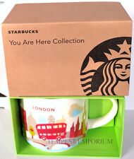 Starbucks London Ceramic Mug You Are Here Collection 414 ml / 14 fl oz Brand New