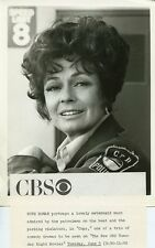 RUTH ROMAN PORTRAIT COPS ORIGINAL 1973 CBS TV PHOTO
