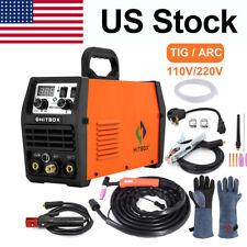 Hitbox 200amp 110220v Tig Welder Dual Volt Inverter Mma Arc Tig Welding Machine