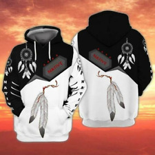 NEW Native American Dreamcatcher Feather 3D Hoodie Best Price US Size Dad Gift