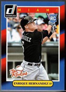 2014 Panini Donruss the Rookies #92 Enrique Hernandez Rookie Card Kike RC