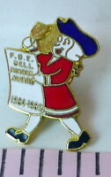 Bell Ringer Fraternal Order of Eagles Award Pin Vintage 1984  1985 FOE