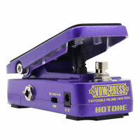 Hotone Vow Press 3 in 1 Active Volume & Analog Wah Effects Pedal VP-10