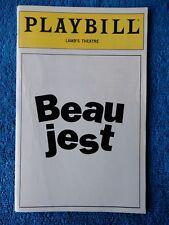 Beau Jest - Lamb's Theatre Playbill w/Ticket - January 13th, 1993 - Bill Doyle