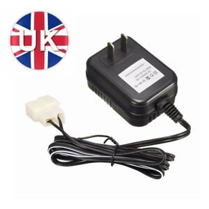 DC Adapter 6V 500MA Battery Charger For Kids Ride On Cars Quad Motorcycles Toy