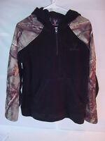 Huntworth Oak Tree Camo Hoodie Fleece Sweatshirt - Mens Size Medium