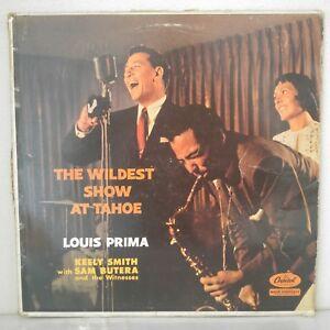 """Louis Prima–The Wildest Show At Tahoe (Vinyl 12"""" LP Album Reissue Mono)"""