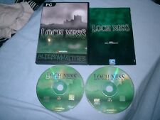 LOCH NESS PC CD-ROM V.G.C. FAST POST ( action/adventure & puzzle solving game )