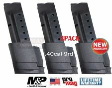 3PACK Smith&Wesson M&P Shield .40cal 9 Round Extended Magazine ProMag SMI31