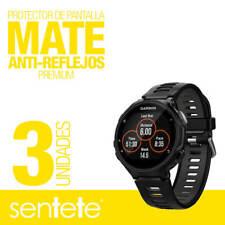 Sentete® 3x Garmin Forerunner 735XT Protector de Pantalla MATE PREMIUM