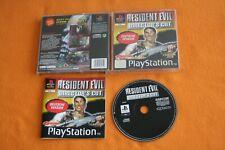 Resident Evil Director's Cut USK 18 Playstation 1 PS 1