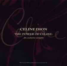 Celine Dion: The Power Of Celine Dion: An Exclusive Sampler PROMO MUSIC AUDIO CD