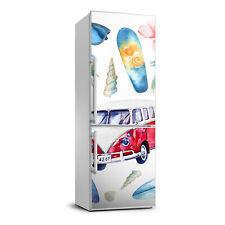 Removable Home Refrigerator Wall Sticker Magnet Decor Modern Surfer set