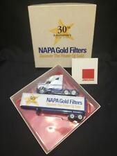 Winross Napa Gold Filters 30th anniversary truck Trailer truck Nib diecast