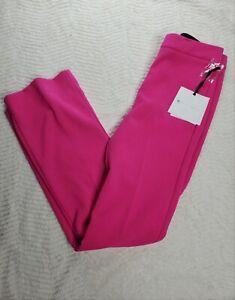 NEW Victoria Beckham x Target Fuchsia Pink Bootcut Pants Trousers SIZE 2