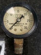 Vintage Kamweld Products Norwood Mass Gauge