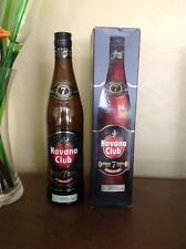 Havana Club Bottles - Pair - 7 Year Anejo & Selection Maestros with boxes