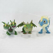 """BABY DRAGONS - HOW TO TRAIN YOUR DRAGON 2 - 2013 SPIN MASTER 3"""" FIGURES LOT OF 3"""