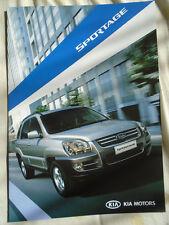Kia Sportage brochure 2005