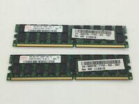 8GB (2x4Gb) Hynix HYMP151P72CP4-Y5 PC2-5300P 2Rx4 DDR2 ECC Server Memory RAM