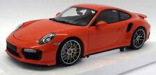 Minichamps 1/18 Scale 110 067120 Porsche 911 Turbo S 2016 Orange