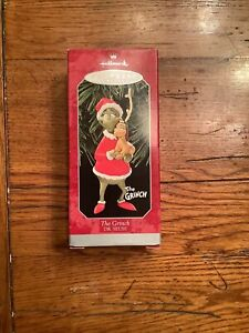 Hallmark Keepsake Ornament 1998 The Grinch Dr. Seuss Max Dog Reindeer