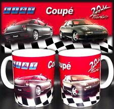 tazza mug FIAT COUPE' turbo 20v 16v car scodella ceramica