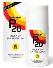 Riemann P20 SPF 15 200ml una vez al día PROTECCIÓN SOLAR SPRAY
