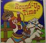 LP Children Record Round-Up Time Kid Stuff Repertory KS080 Cowboy Songs Chisholm