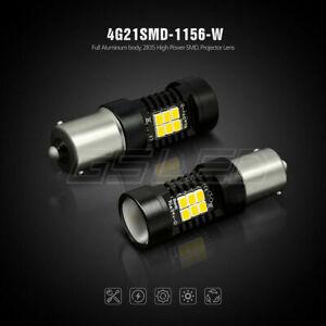 2x Bulbs Reverse LED P21W BA15S Bright White Canbus For Citroen DS5 2011-2015